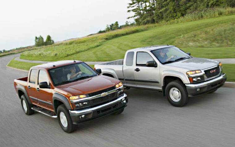 Produktionen igång av 2004 Chevrolet Colorado