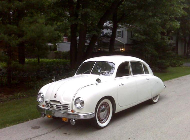 Tatra T 600 Tatraplan såldes i några få år även i Sverige