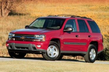 2002 TrailBlazer är ett helt nytt fordon.