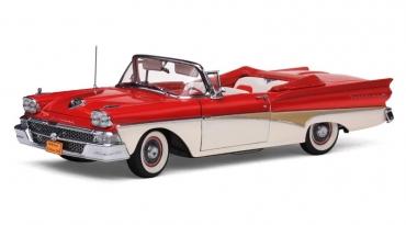 1958 Ford Fairlane 500 Sunliner är en efterlängtad nyhet