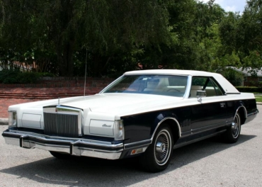 "SERIEN: ""DE STORA BILARNA"" 1968—1979 Lincoln Mark"