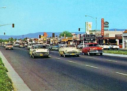 Costa Mesa California i slutet på 50-talet