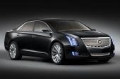 Nya Cadillac XTS Platinum Concept med grill från Cadillac Sixteen.