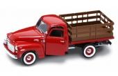 Detaljändrad GMC 150 Pickup blev en Stake Truck i skala 1/18