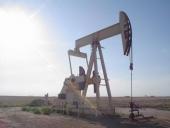 Tidig oljepump i Texas, USA.