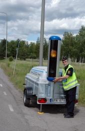 Trafikpolisen jagar böter — inte trafiksäkerhet