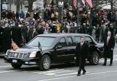 Cadillac DTS först till president George W. Bush