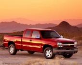 Den nya Silverado Pickup, här med utrustningspaketet Z71.
