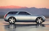 2004 Chevrolet Nomad byggdes på det då nya Kappa-chassit med motorn fram och drivning på bakhjulen.