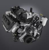 5.7 liter V8 Hemi levererar 390 hk.