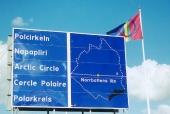 Sweden Offroad Tour korsar polcirkeln och är därmed ett av världens nordligaste offroadäventyr. Här börjar midnattssolens land - och polarnatten på vintern.