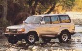 Land Cruiser 80 hade hunnit ikapp tiden igen och framstår som en modern, tilltalande SUV. På bilden 1993 års modell.