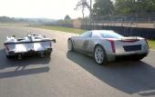 Värstingmodellerna från Cadillac visar helst upp bakpartiet för sina konkurrenter på LeMans.