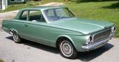1963 Plymouth Valiant V100 2dr Sedan