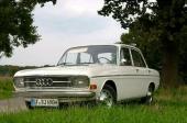 Initialt kallades den nya bilen enbart Audi. På bilden en Audi 60.