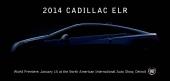 Cadillac annonserar introduktionen av ELR.