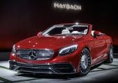 Äntligen en öppen Maybach, därtill med den berömda Mercedes-stjärnan!