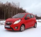 BilTest:  Chevrolet Spark 1.2 LT
