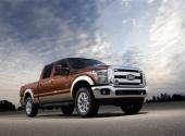 2012 Ford F-Series Super Duty är ett fantastiskt fordon med aggressiv design.