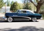 En fin medelklassare var denna 1953 Buick Special Riviera som tillverkades i 58.780 exemplar.