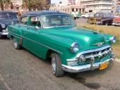 Samma bil från andra sidan, så fick vi även med aktern på en fin 1957 Chevrolet Bel Air!