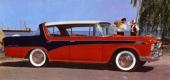 1956 Rambler Custom gjorde berättigat uppseende som 4dr hardtop och 3-färgslackering! En tjusig klassiker!