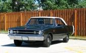 Dodge Dart så som vi minns den. Här 1967 års modell.