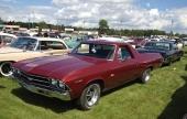 En mycket attraktiv årsmodell av Chevrolet El Camino är 1969 års modell.