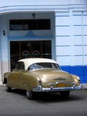 Hardtops är ganska ovanliga på Cuba. Här är det 4dr Sedan eller Convertible som gäller. Men här kan man dock njuta av en underbar 1951 Chevrolet Styleline Bel Air!