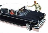 I reklamen framhöll man gärna att Kapitän var en mycket exklusiv och flärdfull vagn,