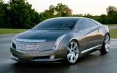 Egentligen en Cadillac Converj, men denna bild har GM själva släppt som den kommande ELR.
