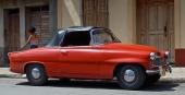 Ännu en öststatare, men en rar sådan. Skoda Felicia Cabriolet från Tjeckoslovakien.