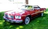 1975 Chevrolet Caprice Convertible! Sista årsmodellen av Chevrolet i öppen version.