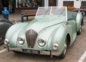 En 1949 Healey Westland i excellent skick.