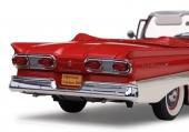 1958 hade Ford ett unikt bakparti med fyra ovala baklampor.