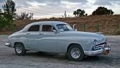 Välvårdad och diskret som taxi är denna 1949 Lincoln. Nästan helt i originalskick.