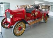1917 Jeffery Quad, tillverkad av Nash Motor Company. Detta fordon användes av Glendale Fire Department och finns nu att beskåda på Glendale Training Center i Arizona.