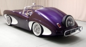 Forerunner var ett år före Corvette med skulpterade karosserisidor.