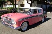 1956 Rambler Custom 4dr Sedan i läcker 3-färgs kombination.