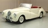1950 Healey Westland Convertible med mer ombonat karosseri.