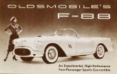 Jo, men visst gavs det ut en originalbroschyr även på dreamcars som Oldsmobile F-88.