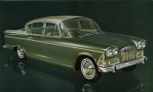 Humber Sceptre marknadsfördes som en verklig lyxbil, vilket den ju också var i allt, utom motorbestyckningen.