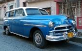 Wow, en 1950 Plymouth Suburban i riktigt fint skick. Men med ögonlock igen!