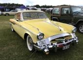 En absolut dröm i gult är denna 1955 Studebaker Speedster, ägd av Berit Wennström.