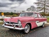 1956 Plymouth Belvedere 4dr Sedan.