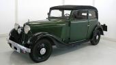 1934 DKW Sonderklasse 1001 Convertible Sedan.