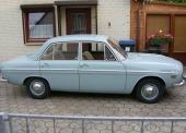 En Audi 60, men kunde precis lika gärna ha varit en DKW F102.