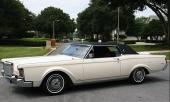 1971 blev sista årsmodellen av Lincoln Continental Mark III. En verklig klassiker.