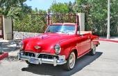 1952 Studebaker Champion Regal Convertible. En verklig läckerbit! Till 1952 övergav man propellernosen.