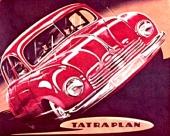 Även Tatraplan såg större och elegantare ut i bilbroschyren än vad som var fallet i verkligheten. Det var tidens melodi!